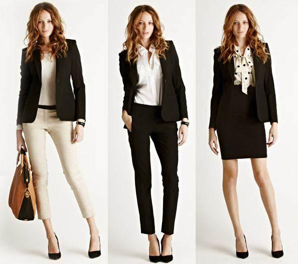 Регламентуються найдрібніші деталі іміджу ділової жінки. В цьому випадку  вибір потрібного одягу залежить не від особистих переваг beea3853af2af