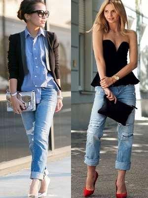 З чим носити джинси-бойфренди влітку  469a3c24e34dd
