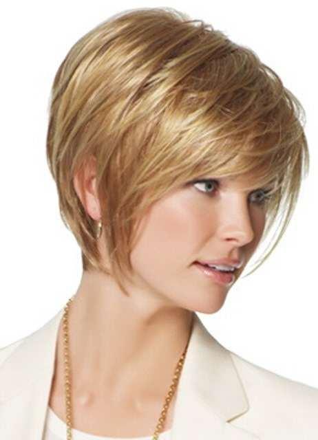 Стрижки для круглого лица и тонких волос
