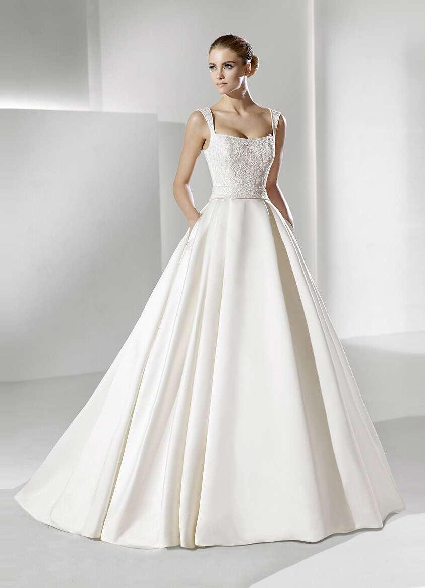 Свадебные платья-шестиклинки
