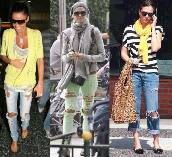 У спеку краще носити джинси світлих відтінків  білі 06c77e9fad8e6