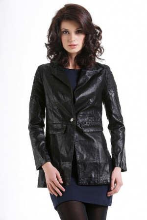 Сучасні жіночі куртки з екошкіри — допоможуть виглядати незрівнянно bcee878000a13