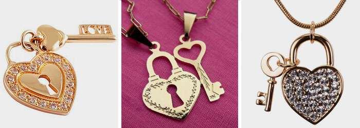 Вишуканий золотий кулон – серце з ключиком – стане завершальним штрихом до  образу коханої дівчини. Оригінальне рішення дизайнерів надає вишуканості  стилю ... 281086e5899af