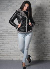 Женские утепленные кожаные куртки ed68984f599ca