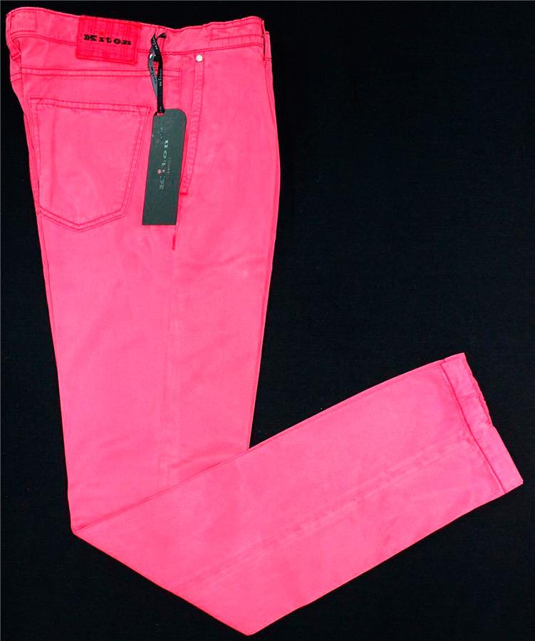Яскраві чоловічі джинси рожевого та фіолетового кольору cbc7c3610aa4a