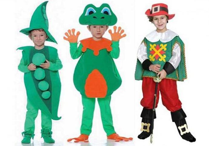 Шиємо новорічний костюм на хлопчика своїми руками  викрійки з описом ... 4ac7271c5eb68