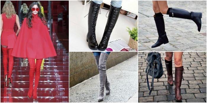 0a46a14b2405e1 Насамперед, варто задатися питанням: «З чим носити чоботи в цьому модному  сезоні, щоб виглядати на всі 100%»? — Вчимося правильно підбирати деталі  гардеробу ...