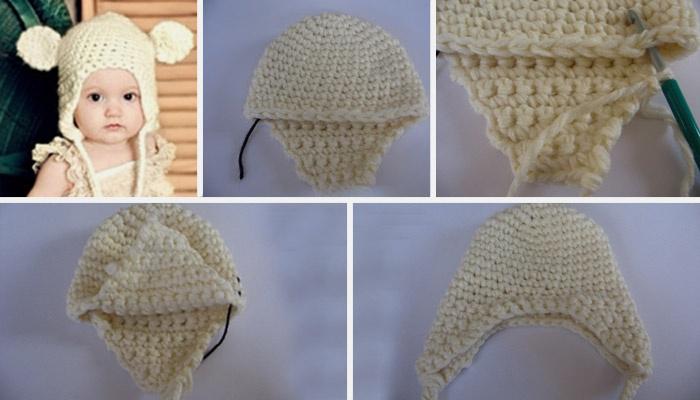 Як зв язати шапочку для новонародженого спицями та гачком  інструкція b4a91d4f66cd7
