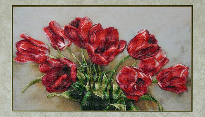 Основою для вишивки картини бісером може бути практично будь-яка тканина  або навіть шкіра eea5623773a2c