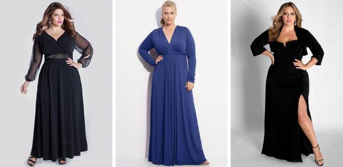 Вечірні сукні для повних жінок  кращі моделі великих розмірів з фото 157515099f25a