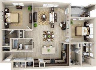 Дом из бруса 8 на 8 - особенности строительства, планировка и отзывы