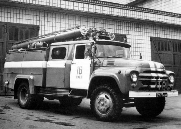 Пожарный ЗИЛ, краткое описание машин на базе ЗИЛ-130/131