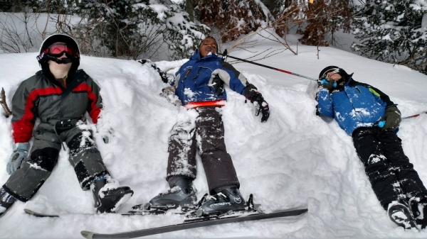 Как правильно установить крепление на лыжи  a15d41f3b4a2f