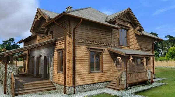Деревянные дома из клееного бруса – АТТИКА