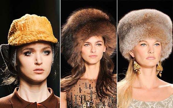 Хутряні шапки — це актуальний тренд зими 2014-2015 30a849850cdb5