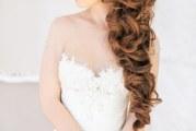Розкішна зачіска для весільної церемонії