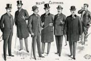 Стиль модерн в одязі 1895-1900