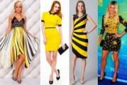 Яким має бути манікюр до жовтої сукні