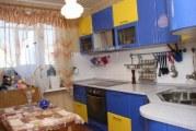 Інтер'єр кухні в синьому кольорі
