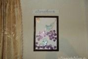 Мозаїчне панно з компакт-дисків «Голуби»