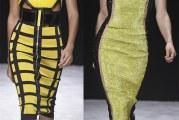 Помаранчеві і жовті сукні весна-літо 2015