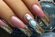 Рідкий камінь на нігтях. Техніка «рідкі камені» на нігтях
