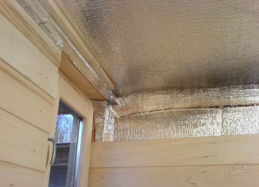 Как утеплить потолок изнутри в деревянном доме
