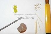 Сережки з полімерної глини до літа