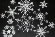 В'язання сніжинки гачком — справа тонка