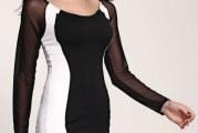 Двоколірна сукня: особливості носіння та догляду