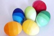 Як оригінально пофарбувати яйця до Великодня