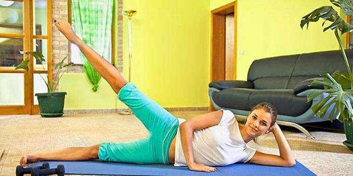 Фото упражнений похудения в домашних условиях