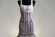 Літнє плаття гачком: схеми та описи