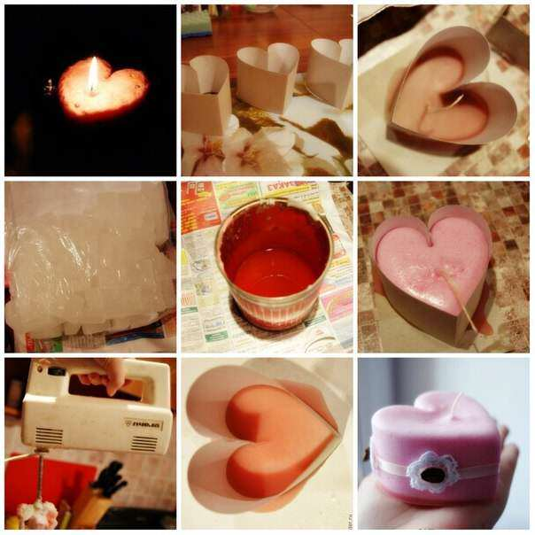 Как в домашних условиях сделать свечку