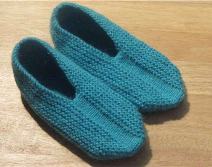 Вязания носки схемы 17