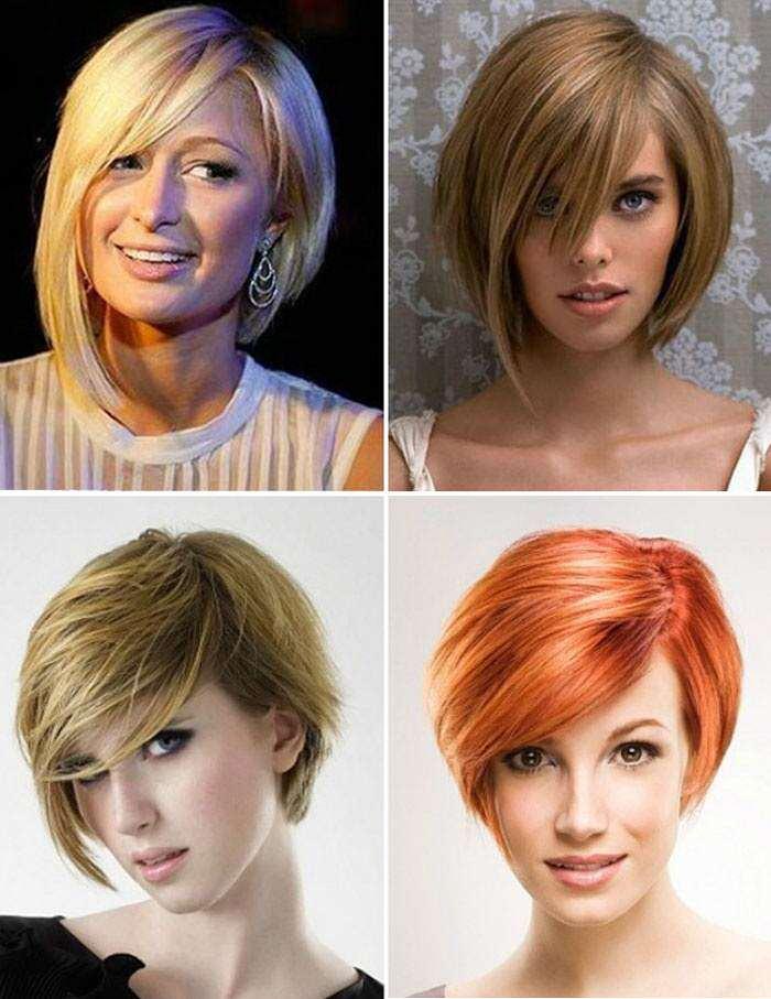 Женские прически на короткие и средние волосы