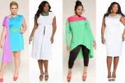 Жіночі літні сукні великих розмірів для повних жінок