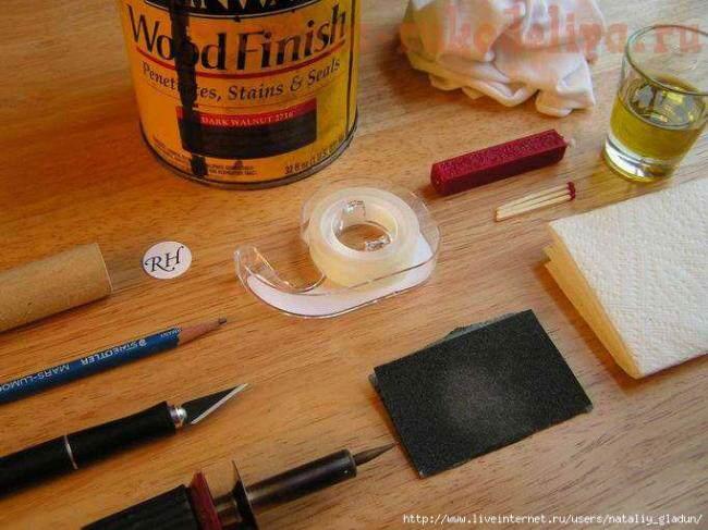 Как изготовить печать своими руками 71