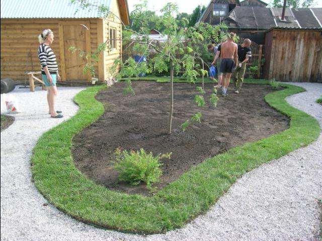 Декоративная тележка для сада своими руками фото