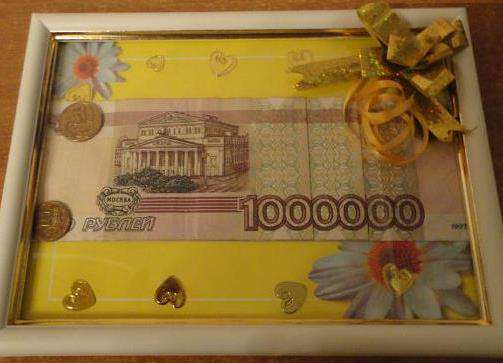 Как прикольно подарить деньги на юбилей мужчине