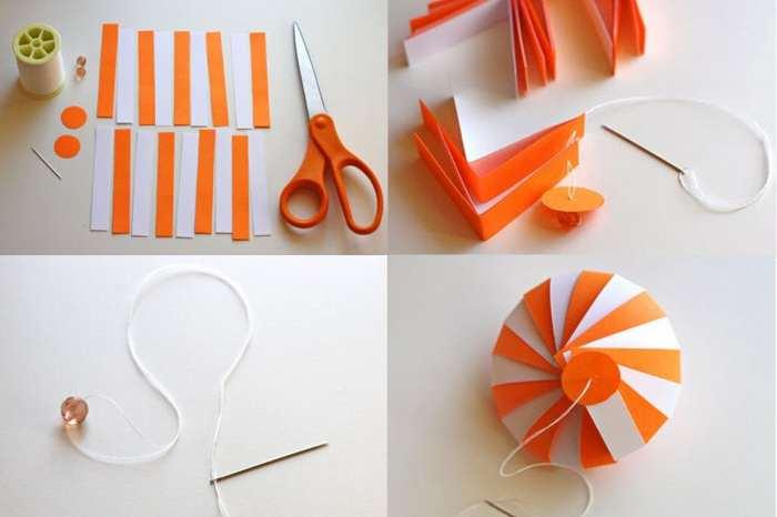 Как сделать из бумаги объемную руку 536