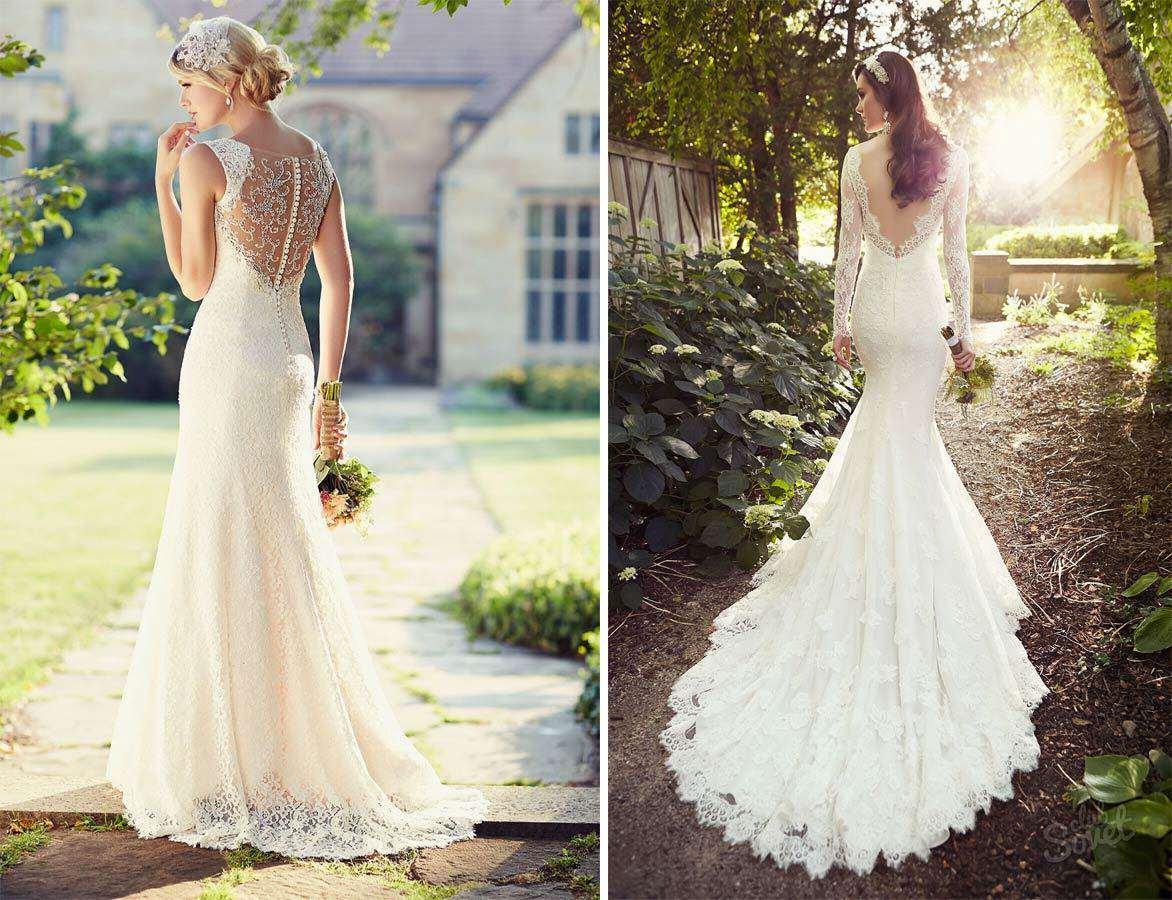 Как сшить платье в свадебном стиле 369