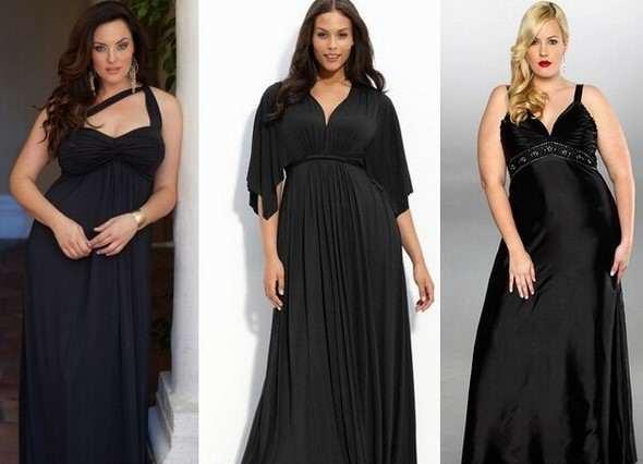 Купить длинные вечерние платья для полных в Москве из тонкого