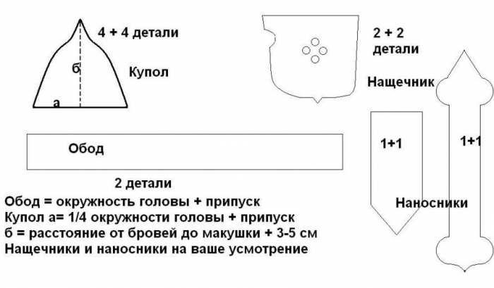 Шлем спартанца из картона бумаги выкройки схема