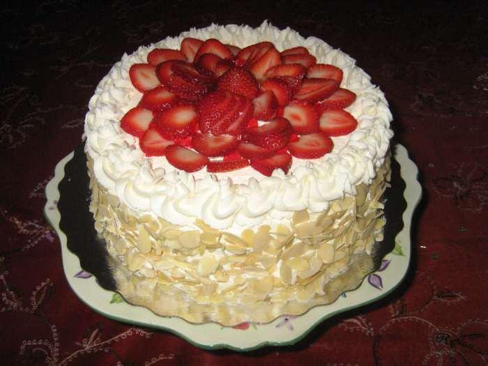 рецепти простих тортів з мастикою