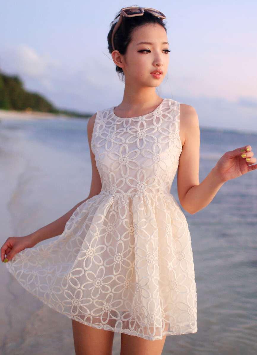 Фото короткие платья на лето