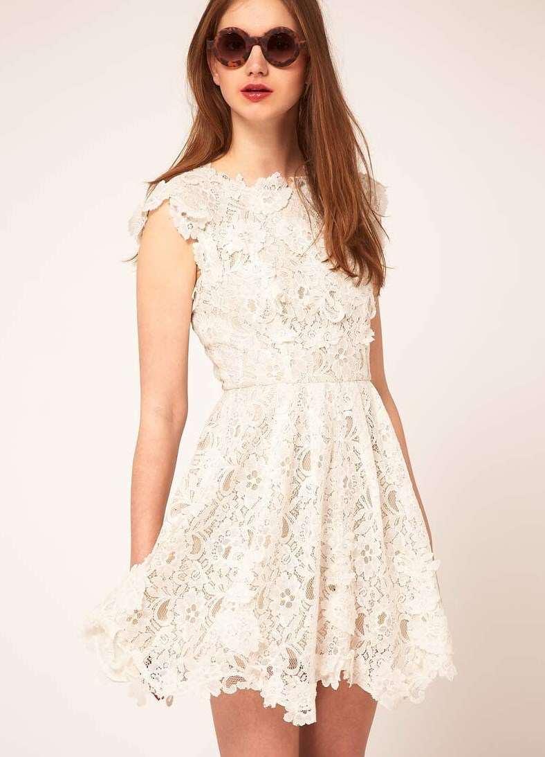 Летние Белые Платья Купить
