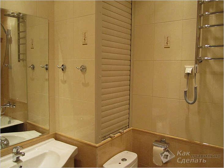 купить металическую дверцу в туалет