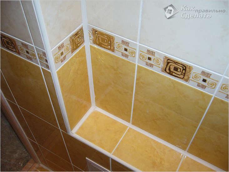 Короба в ванной из гипсокартона