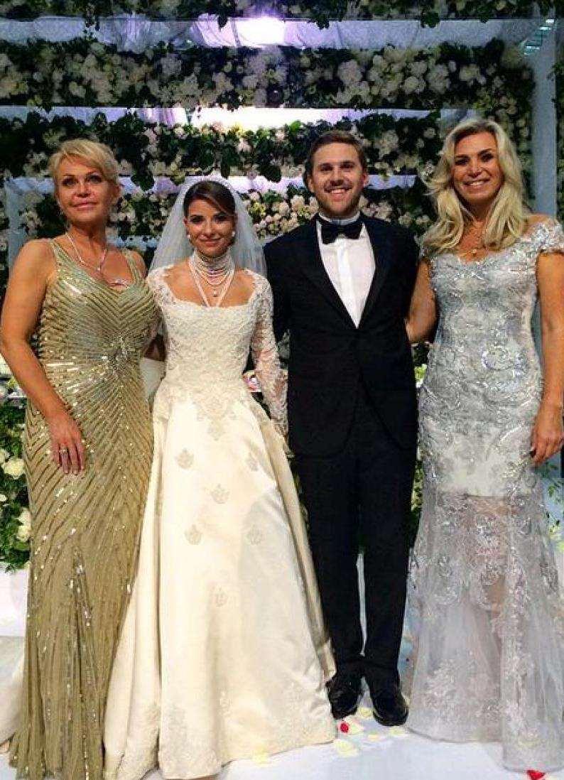 Фото гостей со свадьбы дочери юдашкина